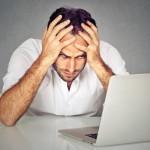 Empreendedor estressado