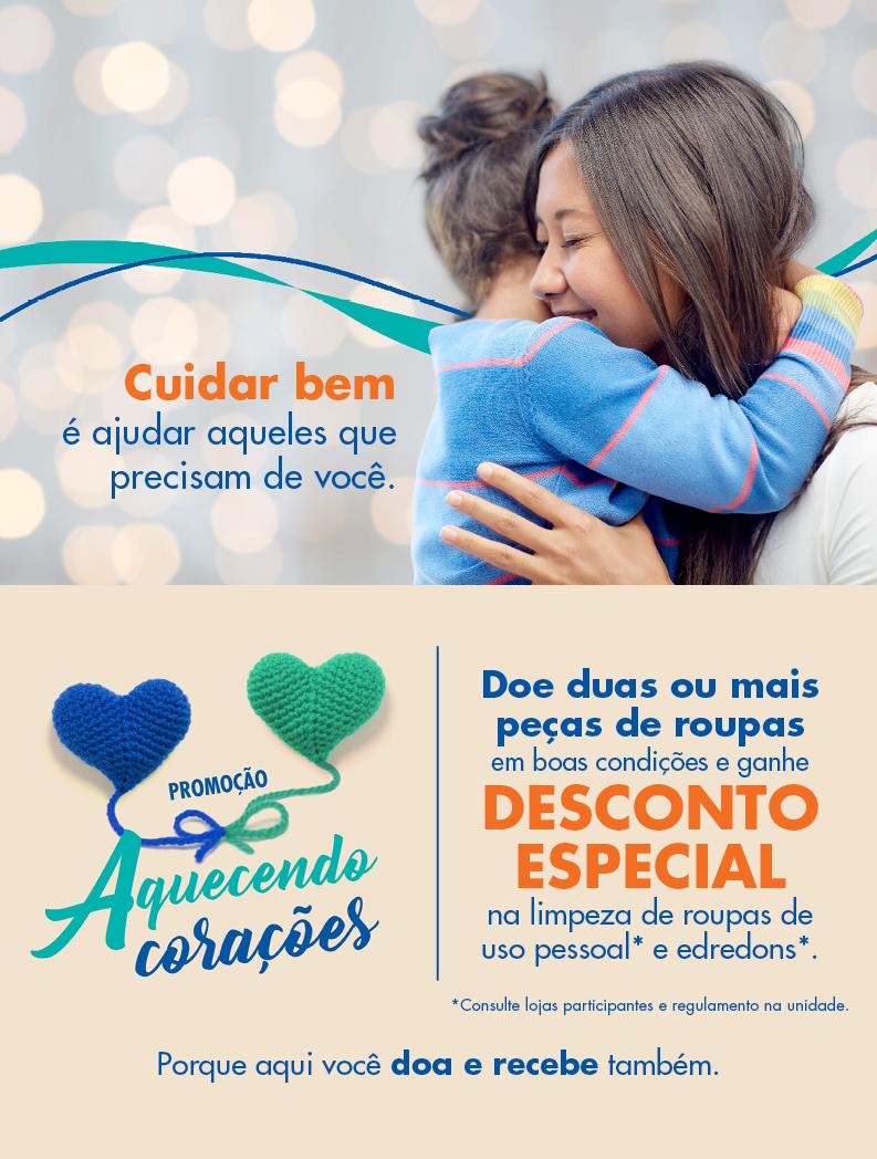 cb50ef47d Promoção Aquecendo Corações I Quality Lavanderia