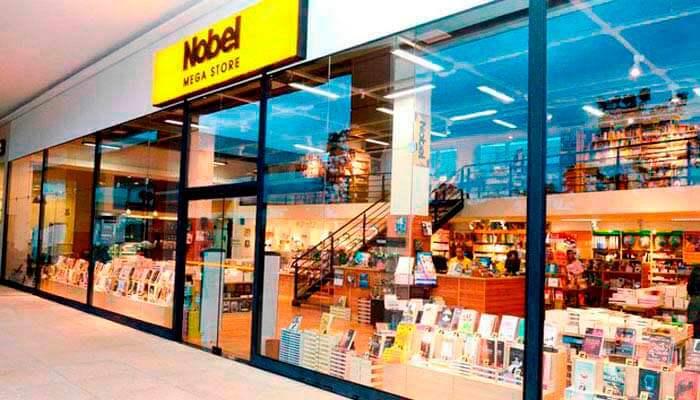 e87d5026c945 A Nobel é a maior rede de livrarias do Brasil. Há mais de 70 anos no  mercado, hoje conta com mais de 200 lojas em 105 cidades.