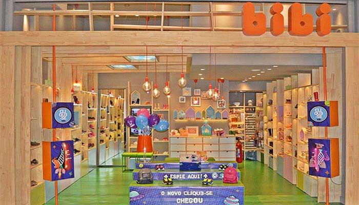 83af19826db4 A franquia Bibi em 2007 realizou um estudo para novamente trazer a primeira  franquia de loja exclusiva de calçado infantil ...