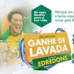 """Quality Lavanderia entra no clima dos Jogos 2018 com a nova promoção: """"Ganhe de Lavada"""