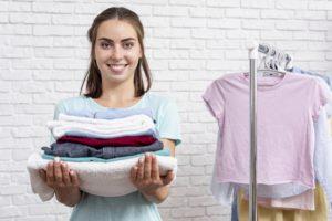 quality lavanderia cuidado com roupas e sapatos